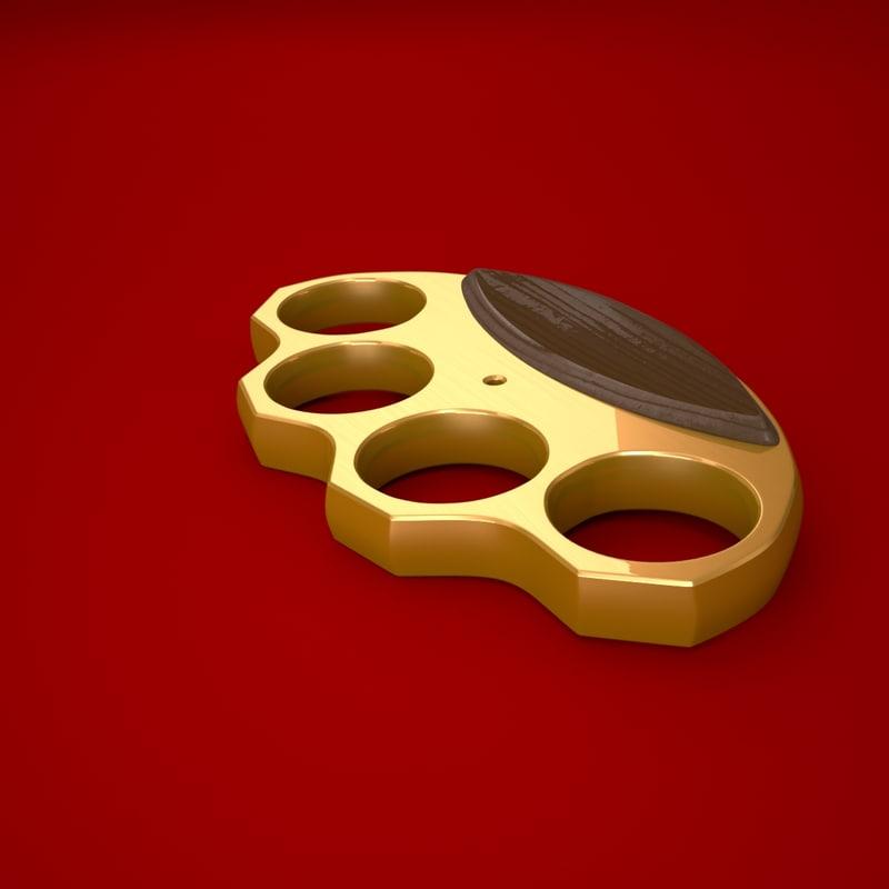 Simple Brass Knuckles