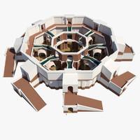 bath house 3D models