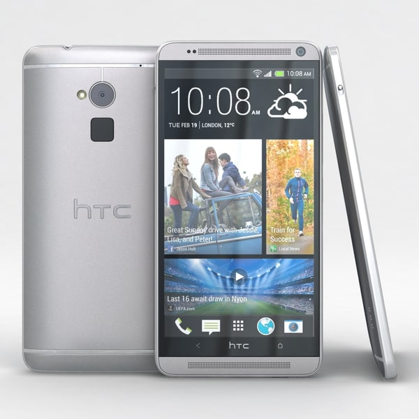 HTC One Max 3D Models
