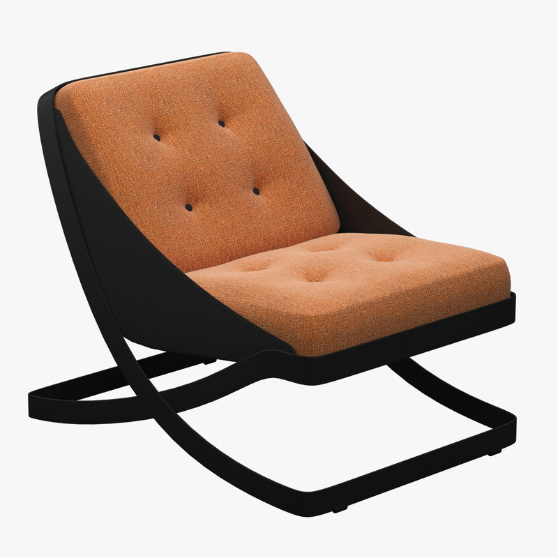 3ds max carlo colombo lounge chair for Carlo colombo