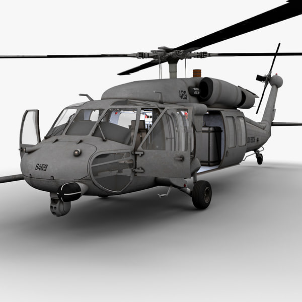 HH-60 Pave Hawk 3D Models