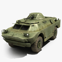 amphibious vehicle 3D models