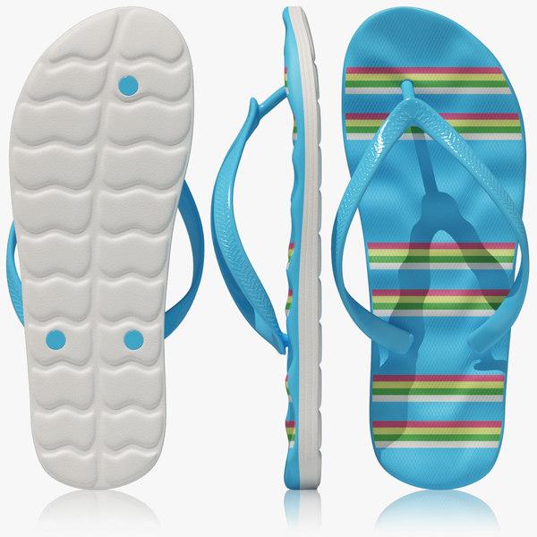 Flip Flops 3D Models