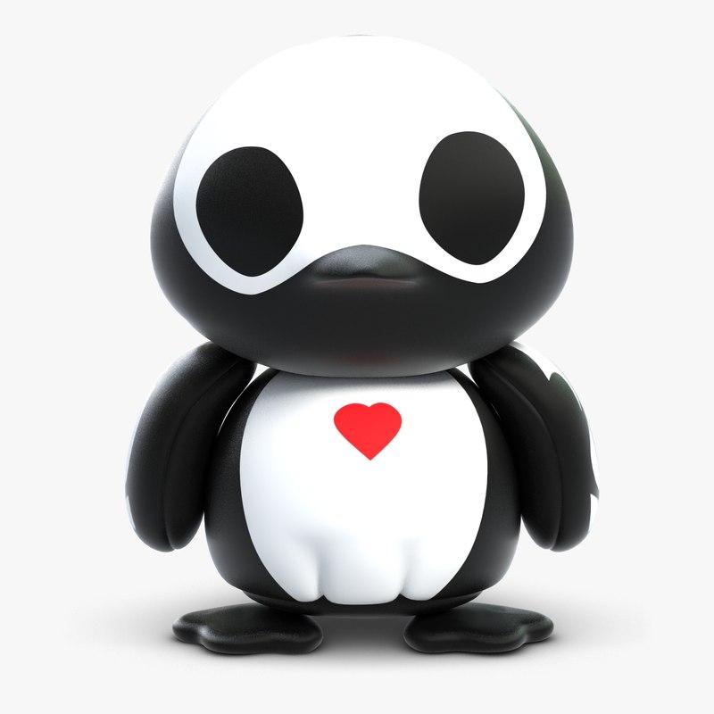Skelanimal Pen Penguin Toy