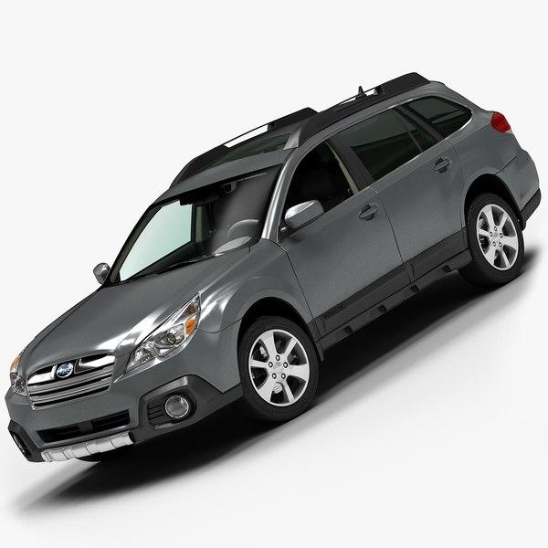 2013 Subaru Outback 3D Models