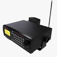 police scanner 3D models