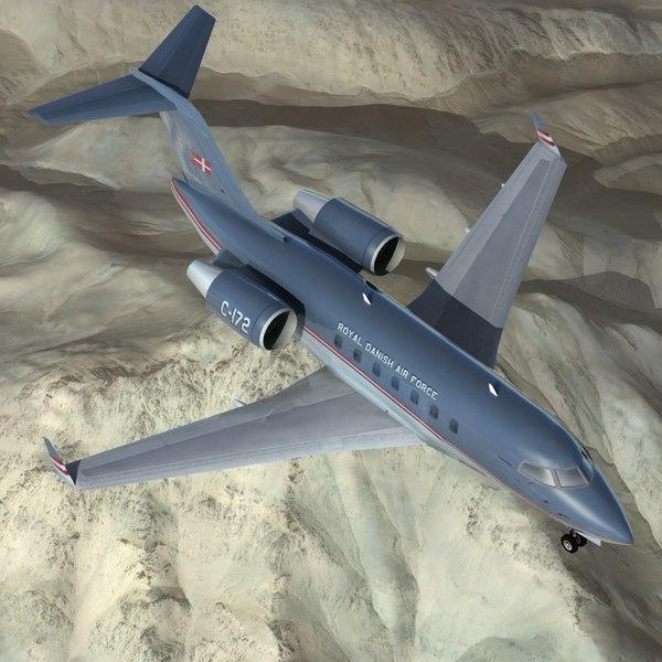 CL-604 Challenger MMA 3D Models