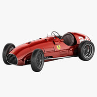 ferrari 166 Inter 3D models