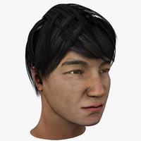 Asian Man 3D models