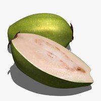Guava 3D models