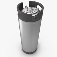 beer keg 3D models
