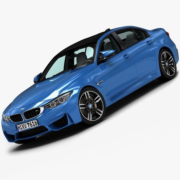 2015 BMW M3 3D Models