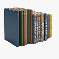 Hardcover Book 3D models