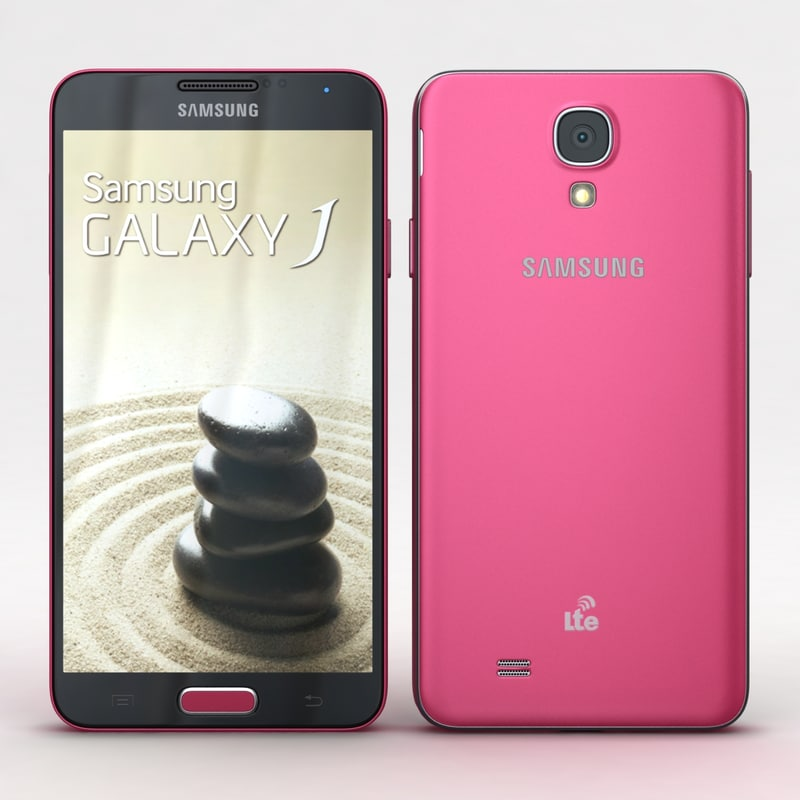 Samsung Galaxy J Pink