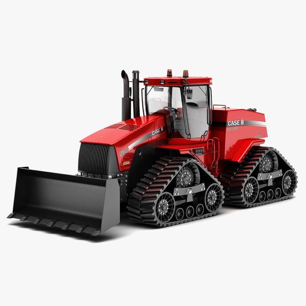 QuadTrac Tractor Case STX 3D Models