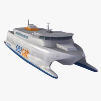 shuttle boat 3D models
