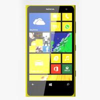 Nokia Lumia 1020 3D models