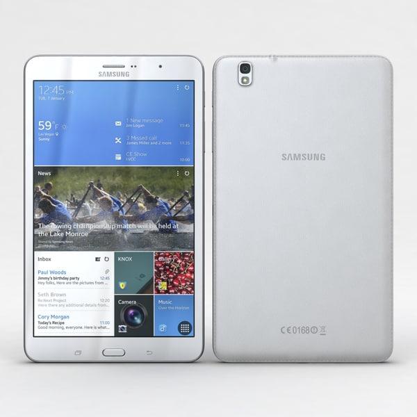 Samsung Galaxy Tab Pro 8.4 3D Models