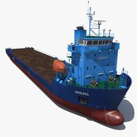 cargo liner 3D models