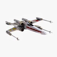 x-wing 3D models