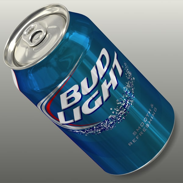 Bud Light 3D Models