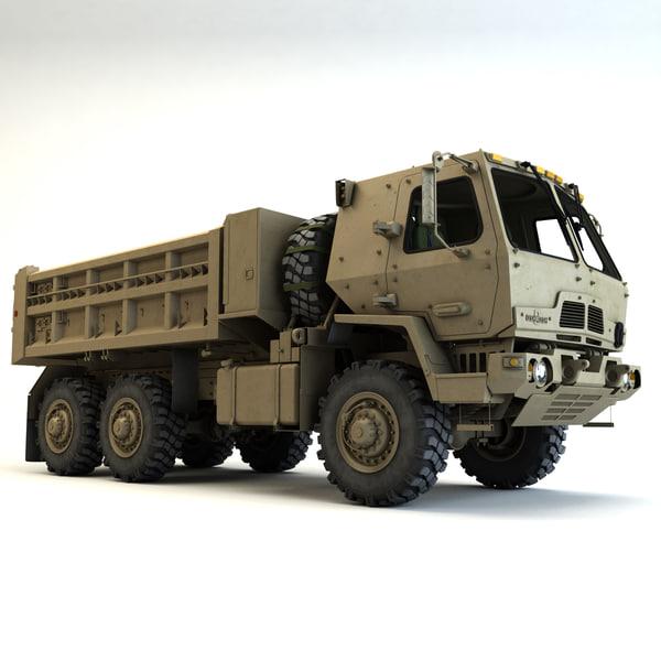 FMTV Dump Truck 3D Models