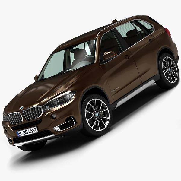 2014 BMW X5 3D Models