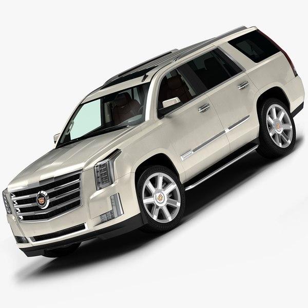 2015 Cadillac Escalade 3D Models