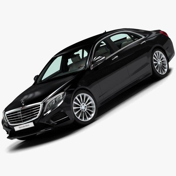 2014 Mercedes-Benz S-Class 3D Models