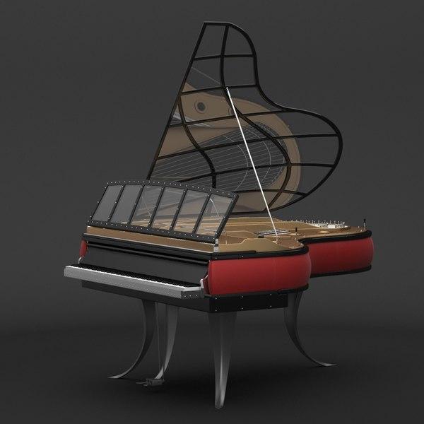 Poul Henningsen Piano 3D Models