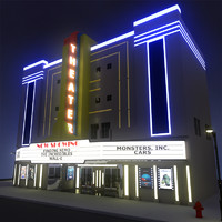 theatre 3D models