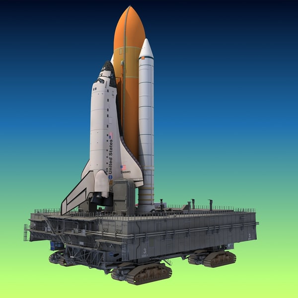 NASA Shuttle Launch Pad 3D Models