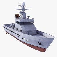 Patrol Boat 3D models