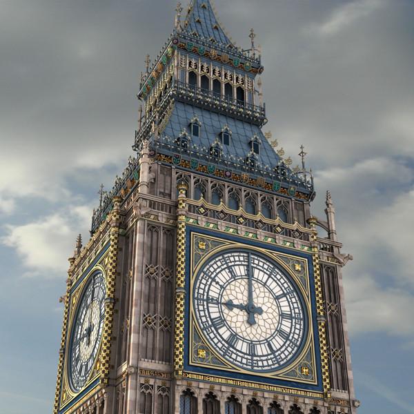 Big Ben 3D Models