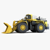 Wheel Loader 3D models