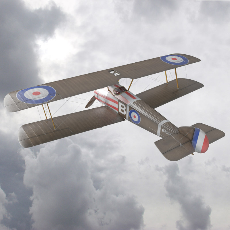 Sopwith Camel WW1 Airplane 4