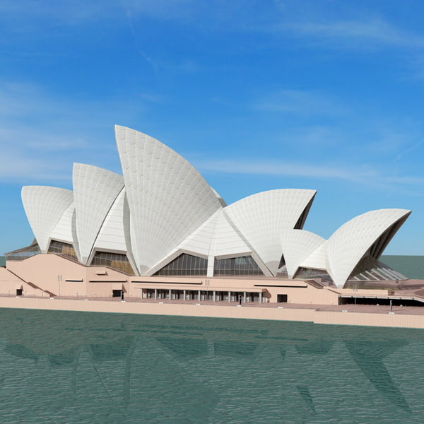 Sydney Opera House 2 3D Models