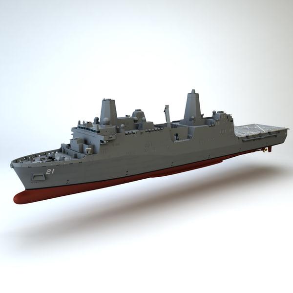 USS New York 3D Models