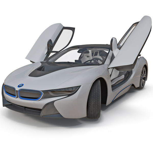 BMW i8 Vision 2014 Rigged 3D Models