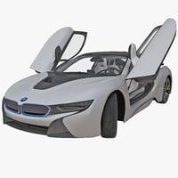 BMW i8 3D models