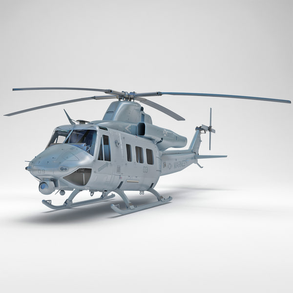 Bell UH-1Y Venom 3 3D Models