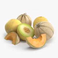 melon 3D models