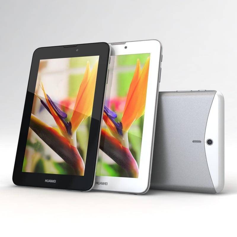 Huawei MediaPad 7 Vogue Black & White
