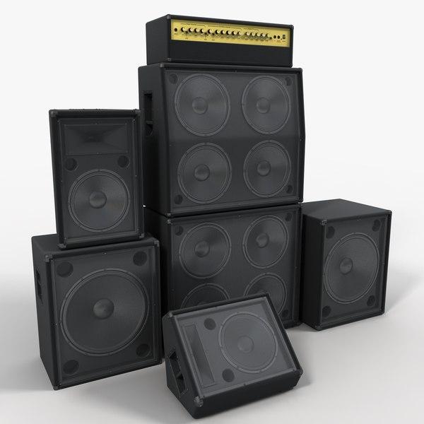 Speakers 3D Models