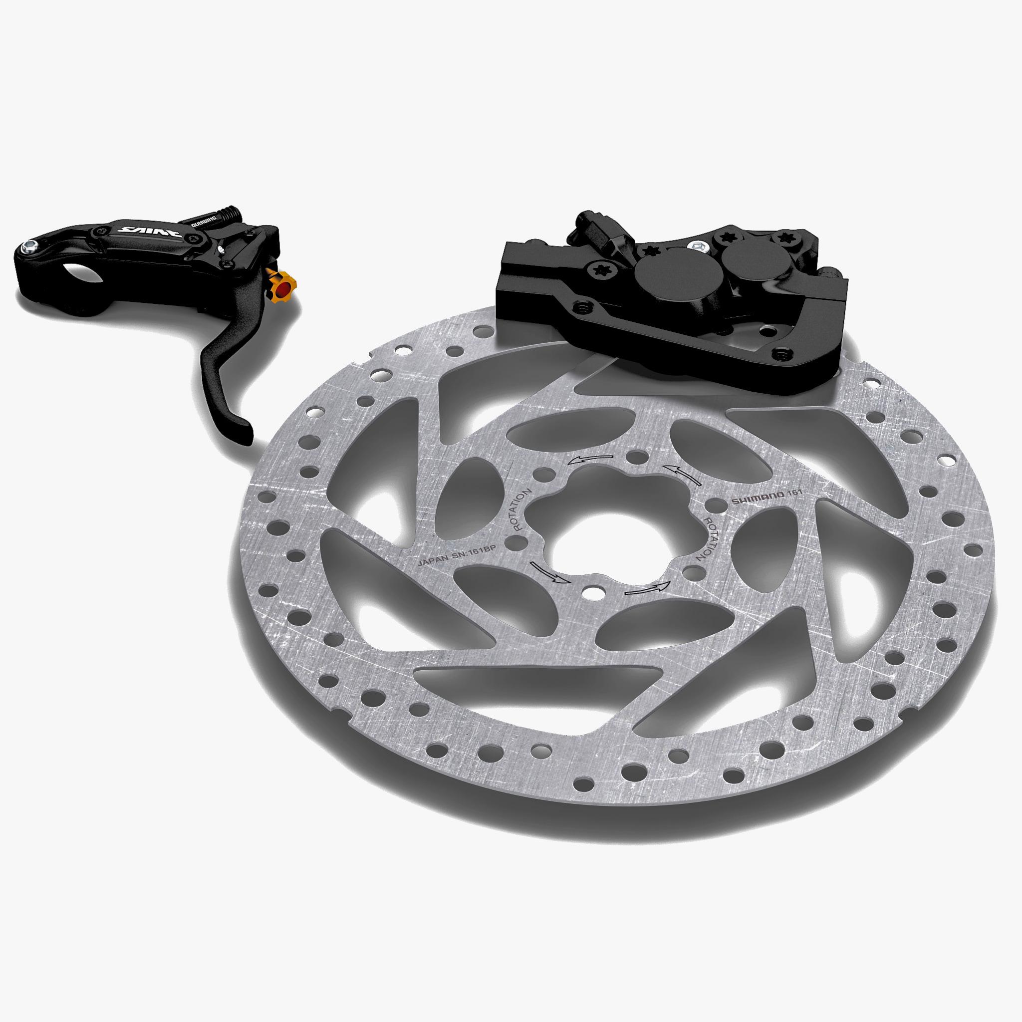 Bicycle Brake Systems : Bicycle brake shimano saint ds