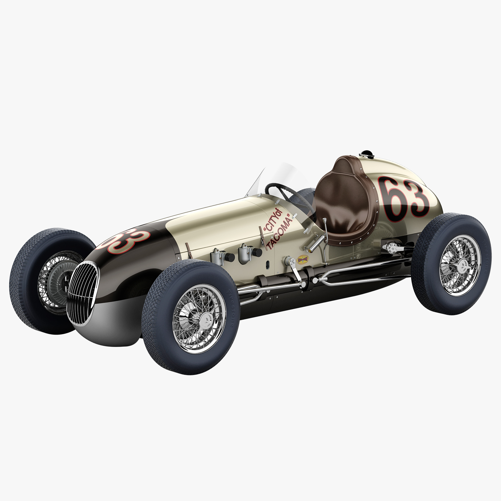 kurtis kraft 2000 vintage race car 3d model by 3d molier. Black Bedroom Furniture Sets. Home Design Ideas