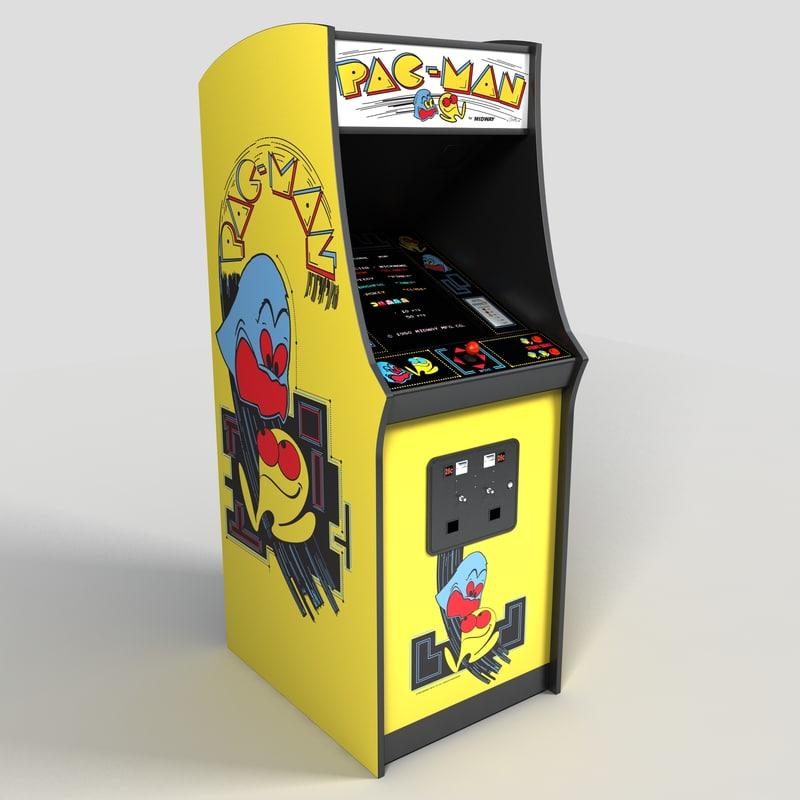 pacman arcade machine