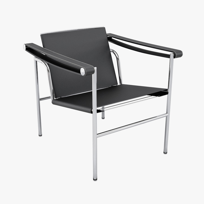 Designer Sling Chairs: Design Le Corbusier Sling Chair 3d Max
