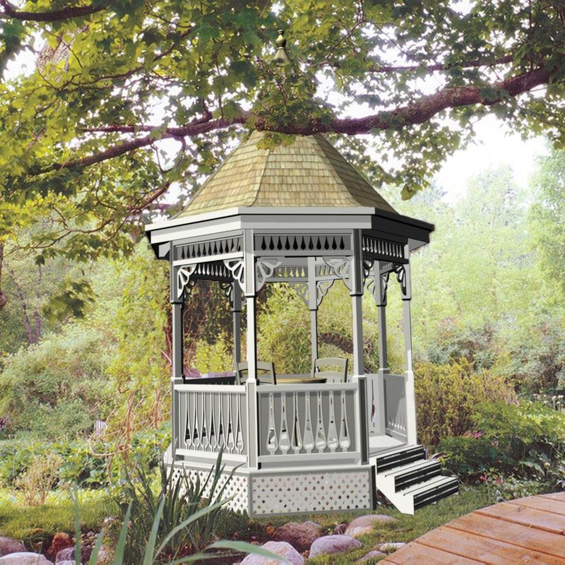 Tea house gazebo max - Outdoor leunstoel castorama ...