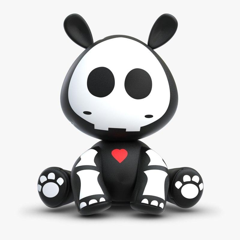 Skelanimal Thomas Hippo Toy